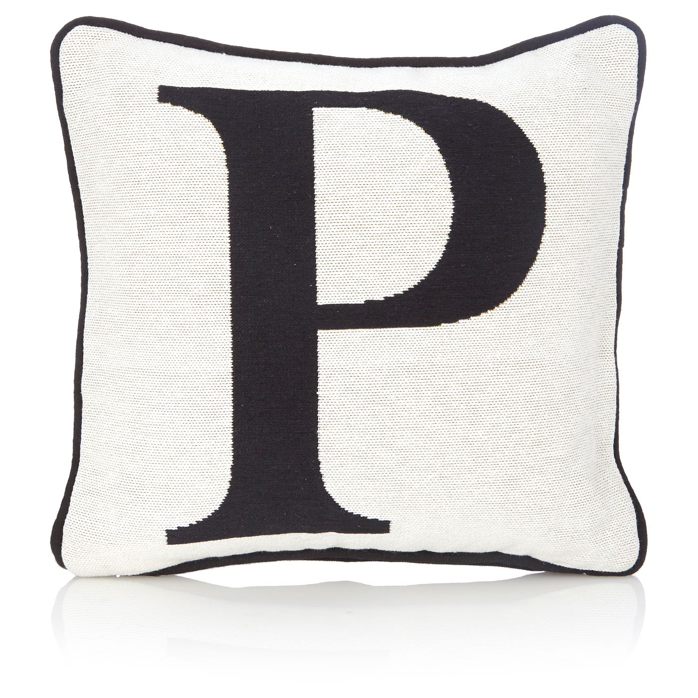 George Home Letter P Tapestry Cushion Cushions