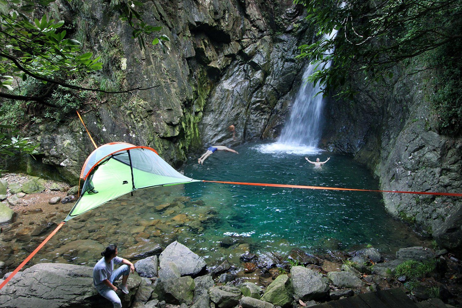 Amazon.com Tentsile Connect 2-Person 4-Season Tree Tent Hammock with : 4 season hammock tent - memphite.com