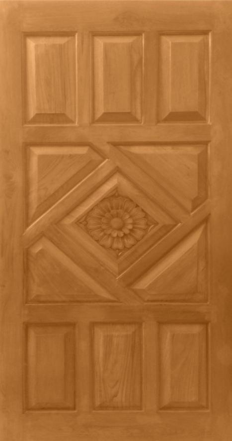 Teak Wood Carving Design Main Entrance Door Rs 26373 Single Door Design Pooja Room Door Design Main Door Design