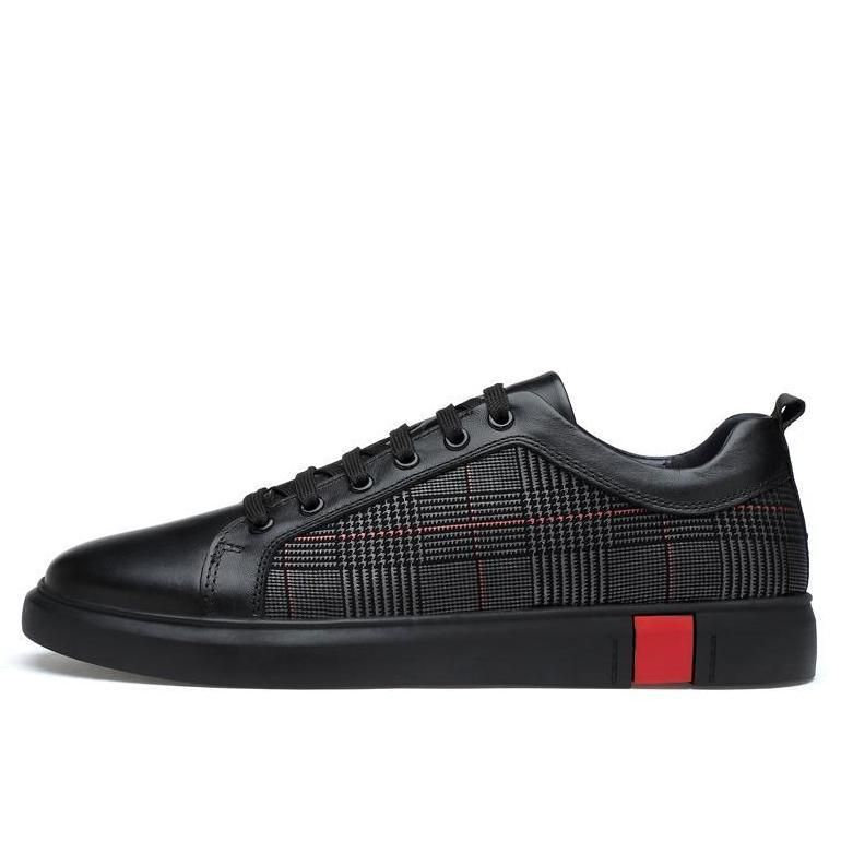 f0c22776c743c Noir Deluxe Sneakers | Men's shoes | Leather sneakers, Sneakers ...
