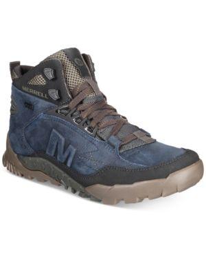 ea31761bcf Merrell Men's Annex Trak Mid Boots - Blue 10.5 | Products | Boots ...