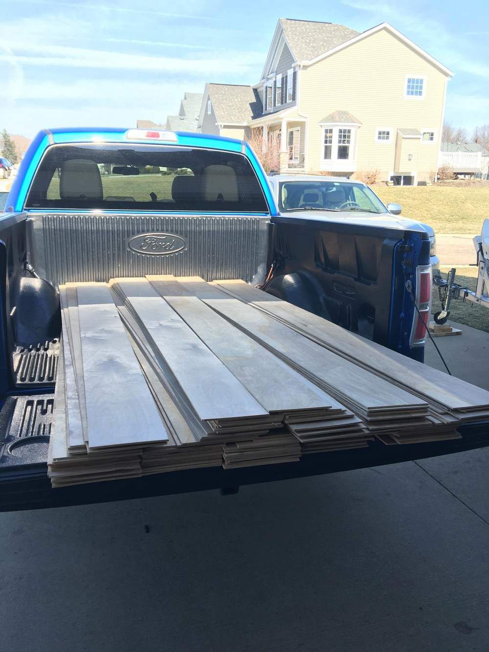 Plywood turned hardwood flooring diy the other side of