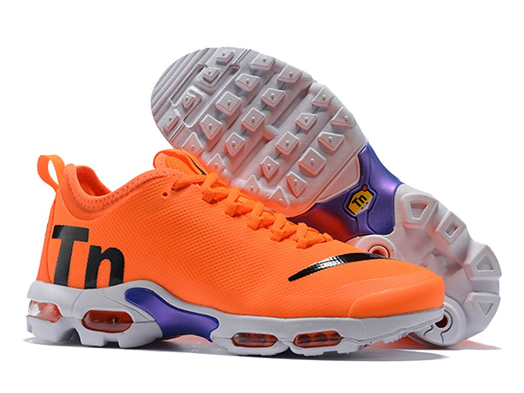 uk availability 7bcfa 1f029 Nike Air Max Plus TN Ultra SE Chaussures Nike Basket Prix Pour Femme Blanc  orange AQ0242