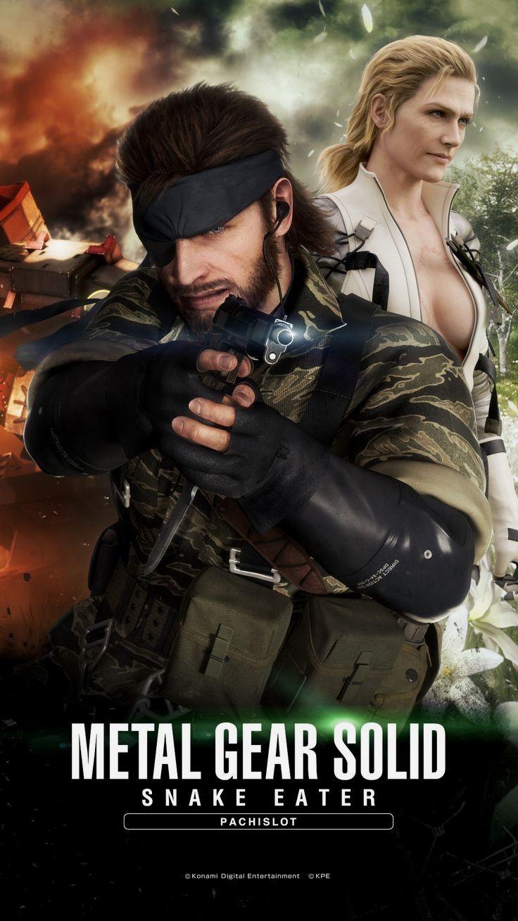 Mgs Snake Eater Pachislot Wallpaper Smartphone 2 Metal Gear Snake Metal Gear Metal Gear Solid
