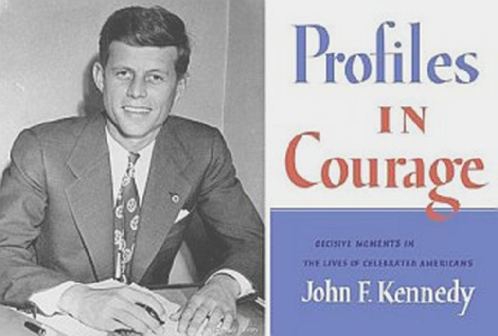 an analysis of profiles in courage by john f kennedy Did john f kennedy really write profiles in courage analysis of who did what has come from historian herbert parmet in jack: the struggles of john f kennedy.