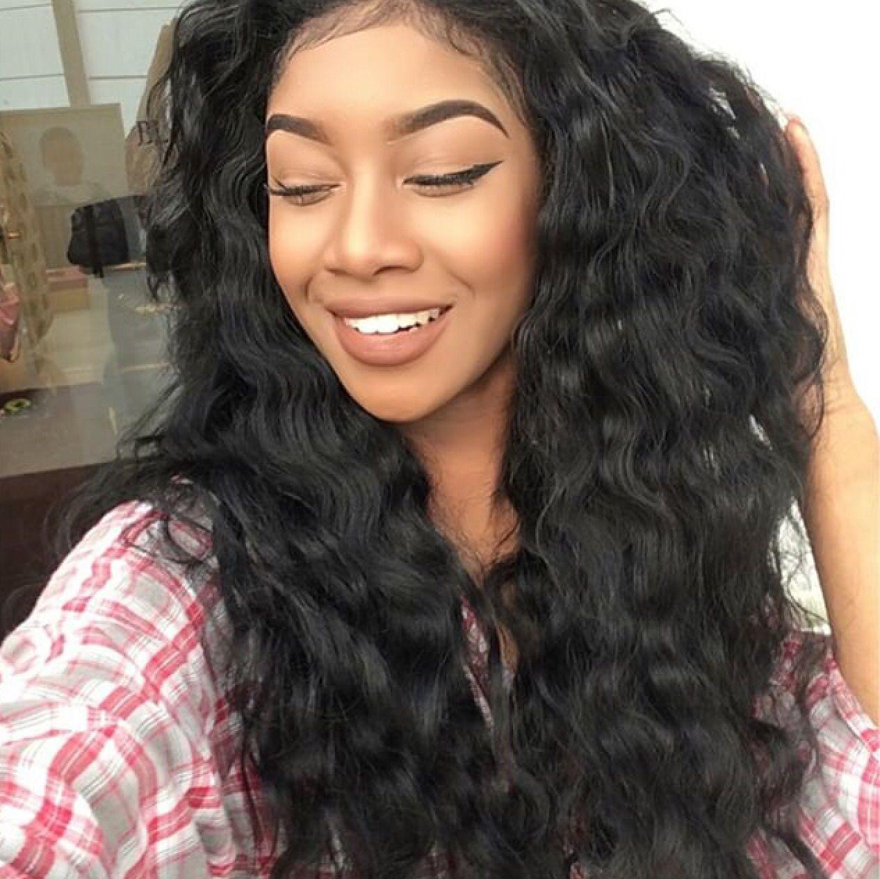 1 bundle} 9a malaysian virgin hair deep wave | hair style, virgin