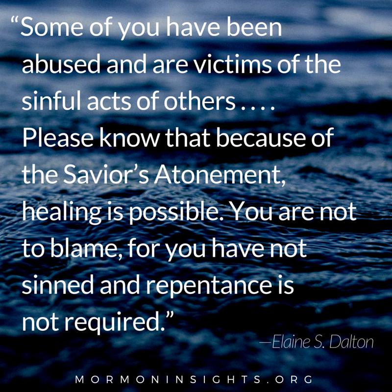 Healing is possible. #ShareGoodness #LDS —mormoninsights.org