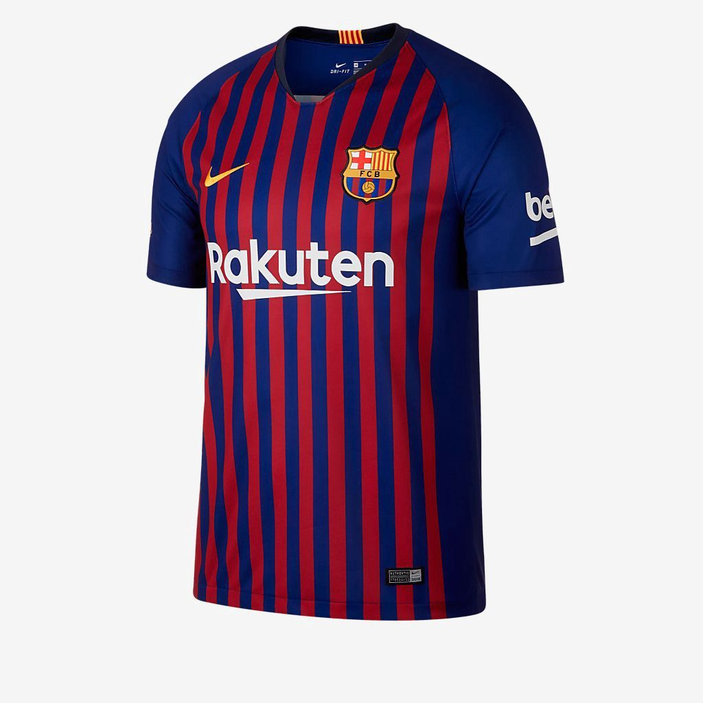 6e90eefc511 Nike 2018 19 Fc Barcelona Stadium Home (Philippe Coutinho) Big Kids  Soccer  Jersey - M (10-12) Gold