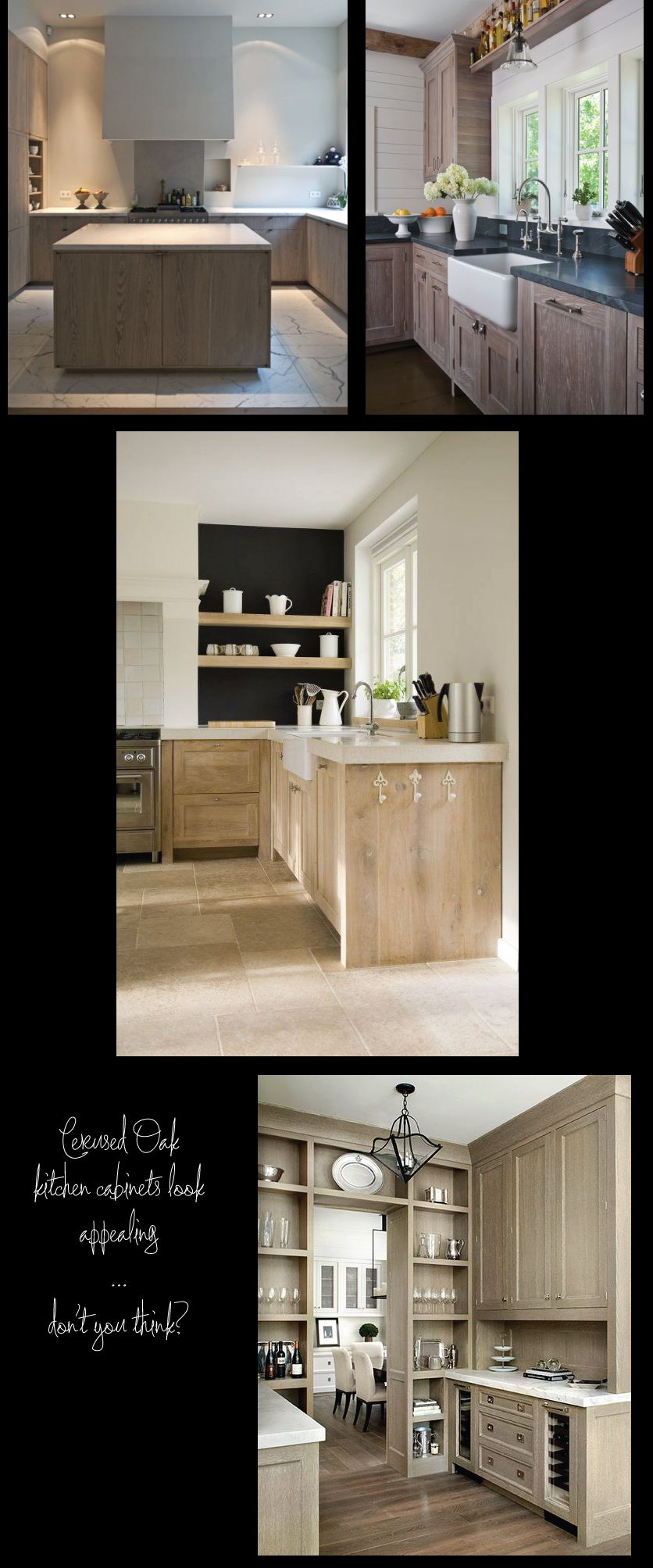 Design In Wood What To Do With Oak Cabinets: Cerused-Oak-Kitchen-Cabinetscerused Cabinets