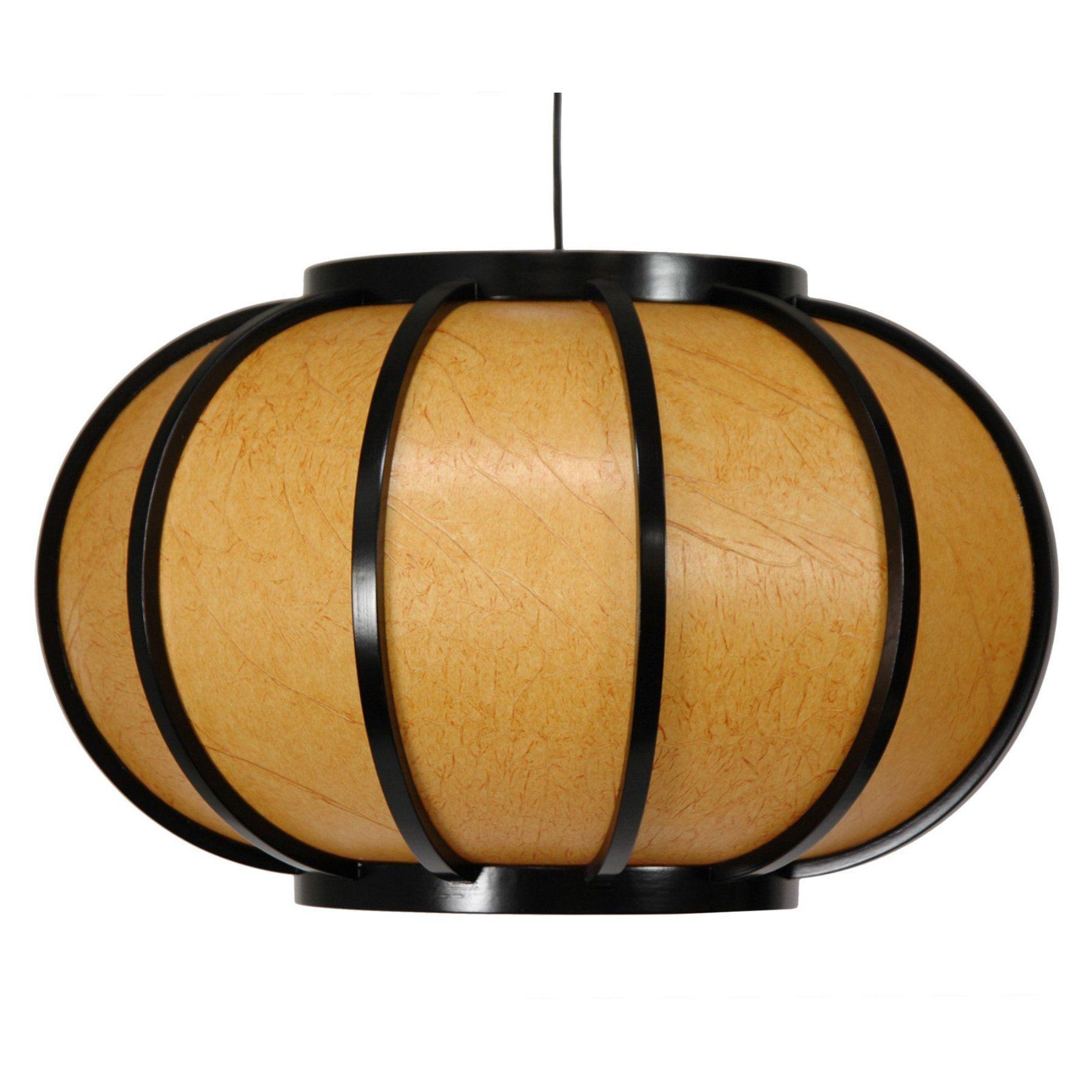 Oriental Furniture Harajuku WDLD054 Hanging Lantern