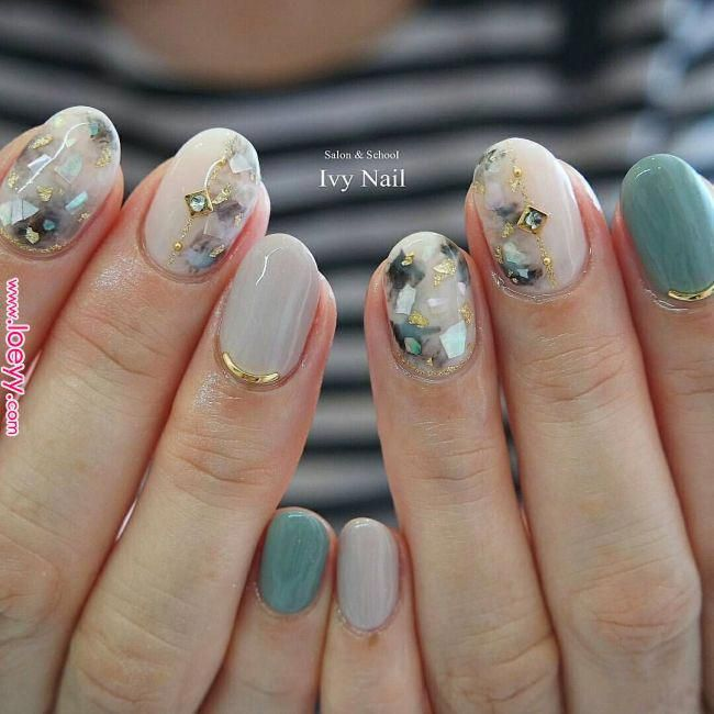 Excellent gel nail designs for fall detail is offered on our website. Take a look and you will not be sorry you did. #koreannailart
