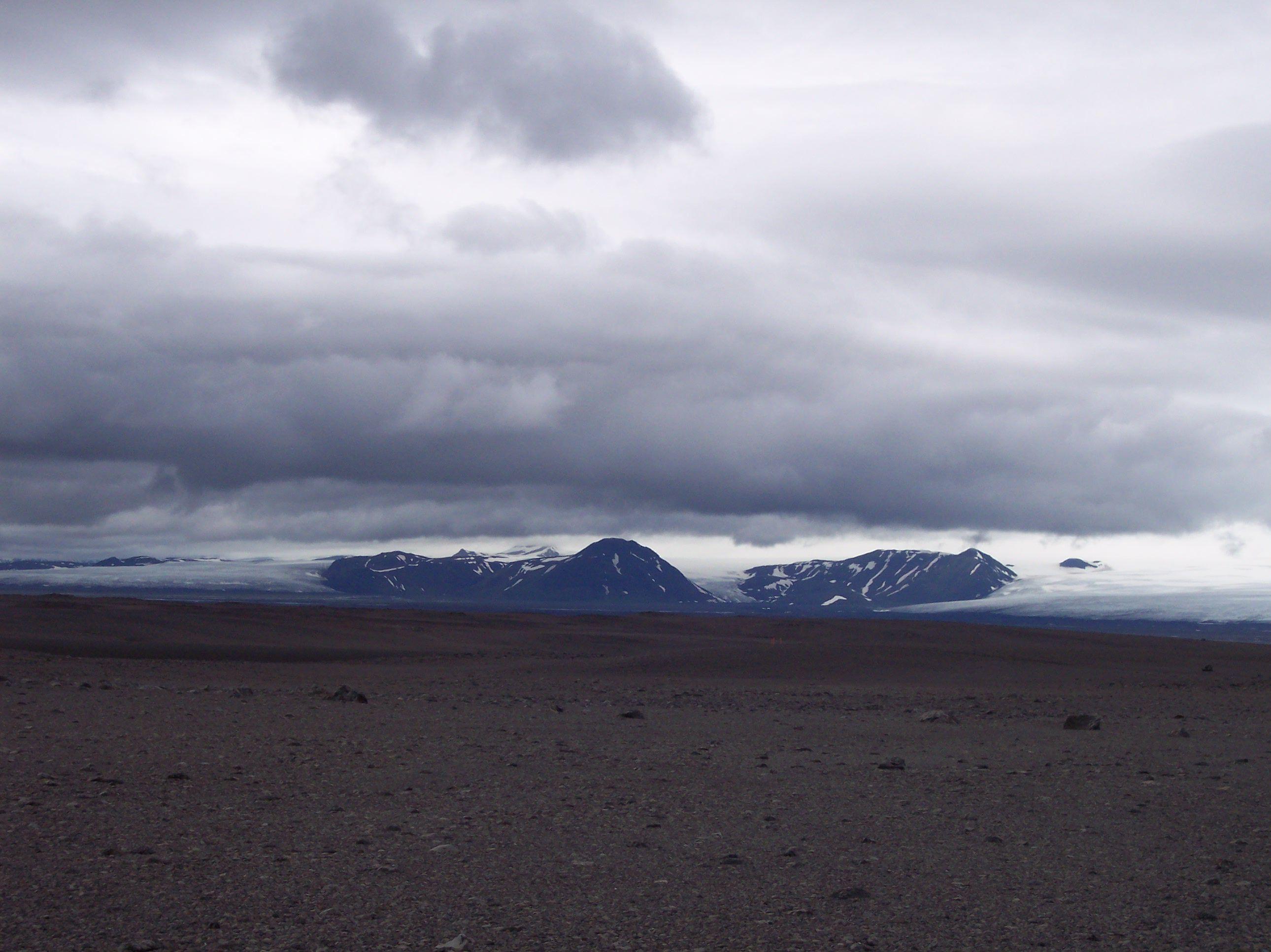 Hofsjökull , Islandia
