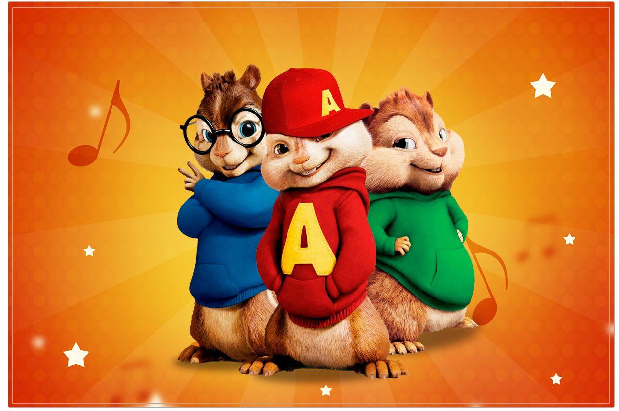 Cartao Alvin E Os Esquilos Alvin E Os Esquilos Alvim E Os