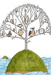 Owl Island!   Illustrations by Ben Clanton