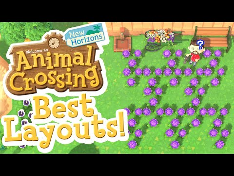 BEST LAYOUTS for Growing Hybrids ACNH [TUTORIAL