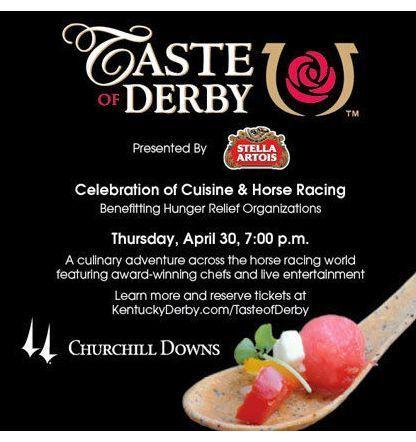 Taste of Derby Tickets Thursday April 30 2015 Kentucky Exposition Center KY Oaks