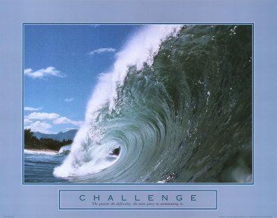 Challenge: Wave Print