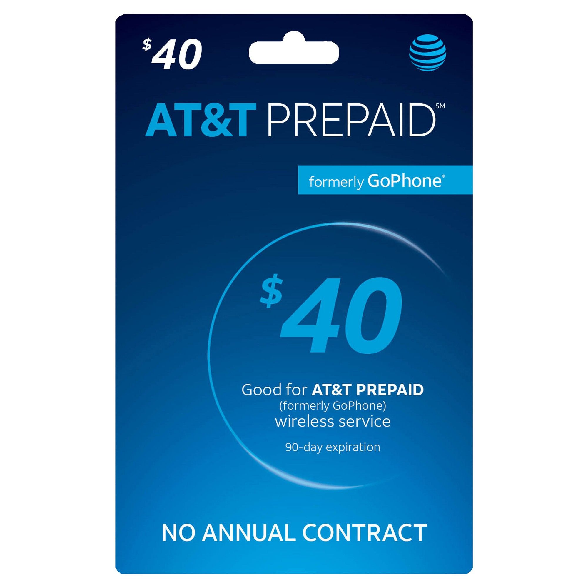AT&T 40 Prepaid Phone Card (Email Delivery) Prepaid