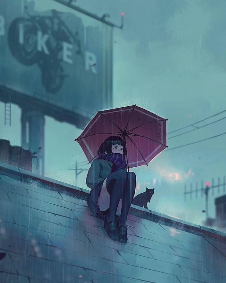 Illustrations byGUWEIZ 炜炜