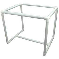 Q-Snap Floor Frame | pvc pipe projects | Floor framing ...