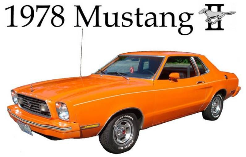 19741978 Ford Mustang 2nd Generation  Ford Mustangs