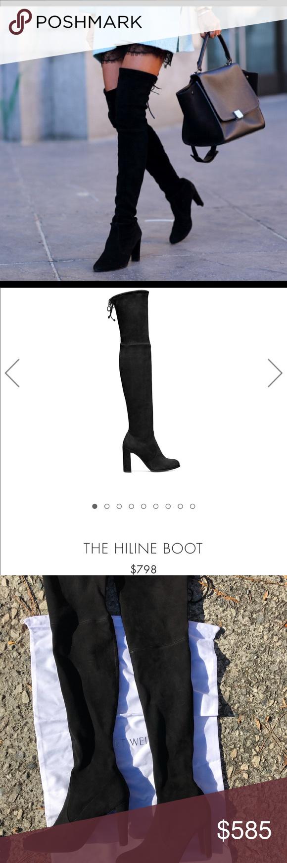 3fdb2e3f770 stuart weitzman boots BRAND NEW stuart weitzman highland black Open to  offers