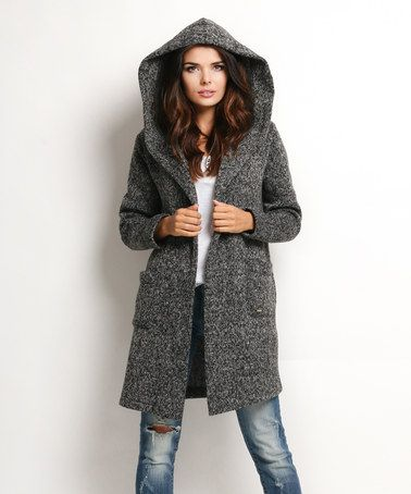 Graphite Hooded Open Cardigan Hooded Open Cardigan Open Cardigan Cardigan