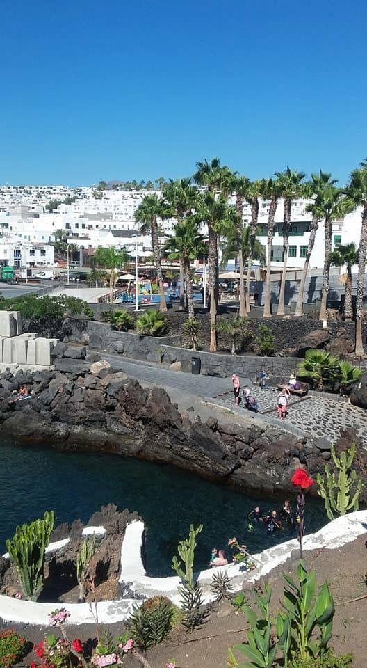 Playa Chica Lanzarote Spain Balearic Islands Canary Islands Island