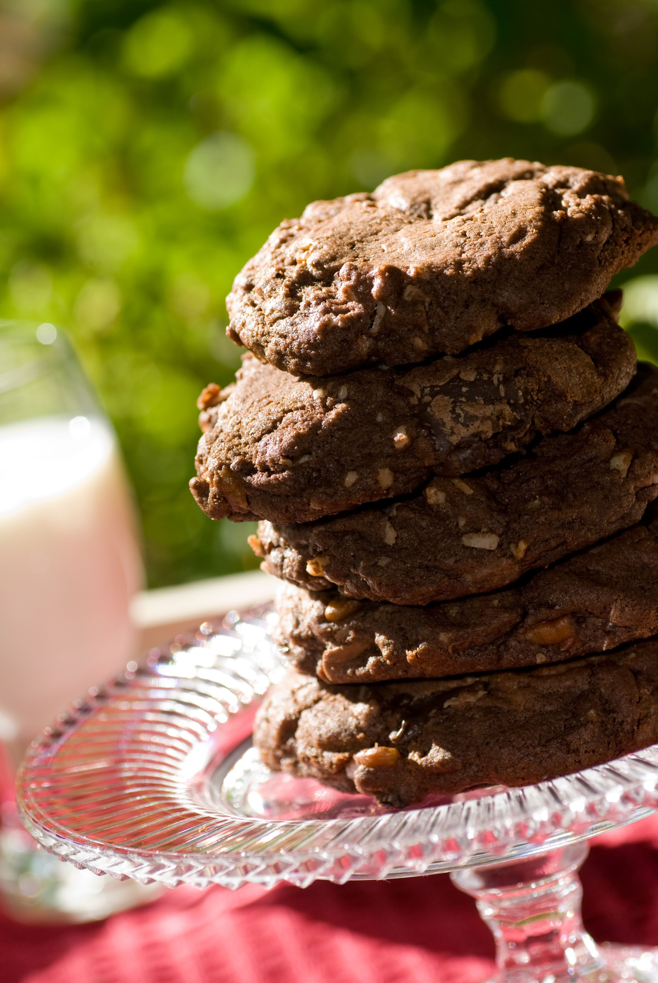 Double Chocolate Thunder Cookies: •2 1/2 cups flour •1 cup butter ...
