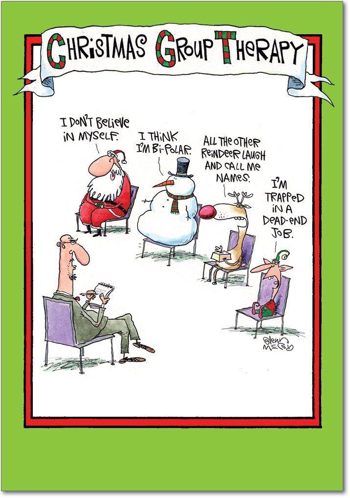 Christmas Group Therapy Group Christmas humor, Christmas