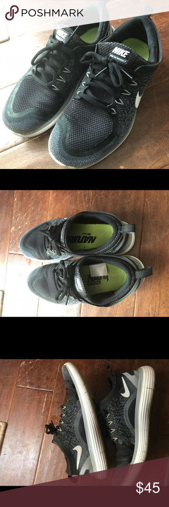 7cd6ea18d9a Nike Free RN Distance 2 Running Shoes Used but still in good condition.  Show minor wear on bottom and the print on the insoles. Nike Shoes