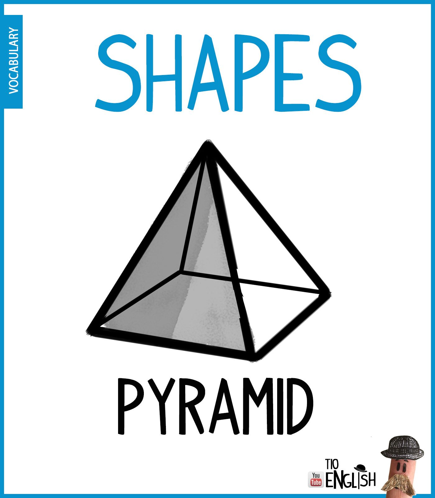 Pyramid Learn 3d Forms In English 3d Shapes English