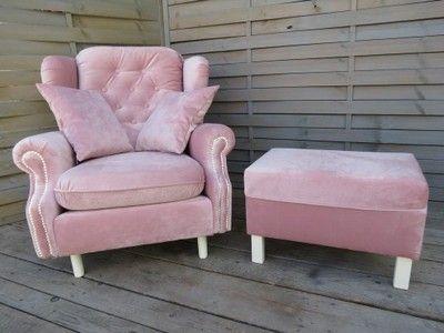 Fotel Uszak Z Podnóżkiem W Fotele Meble Do Salonu