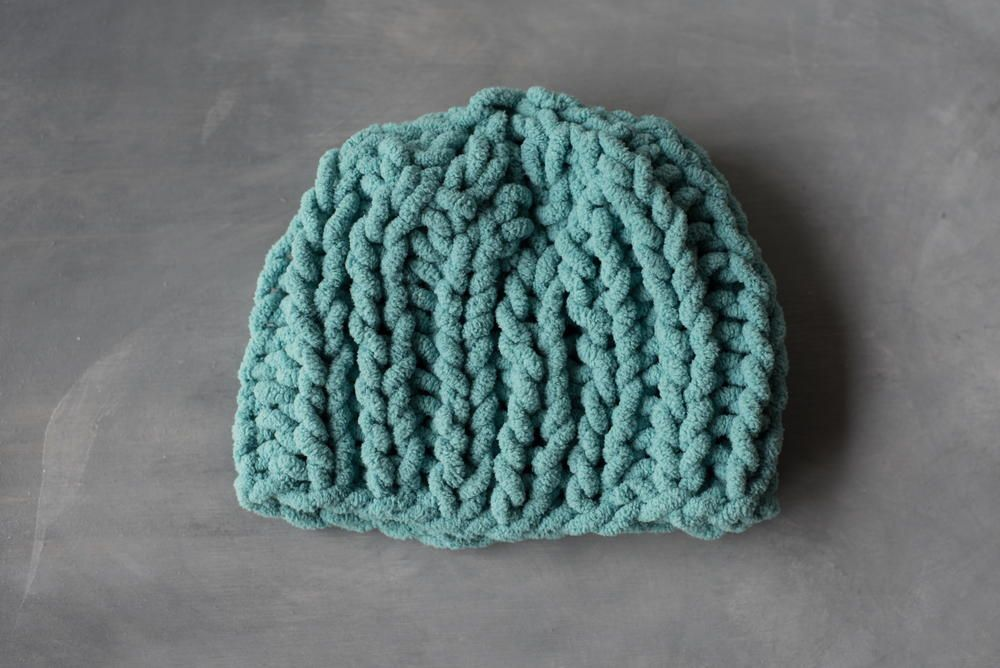 How To Knit A Baby Hat In One Hour Baby Hats Hat Tutorial And