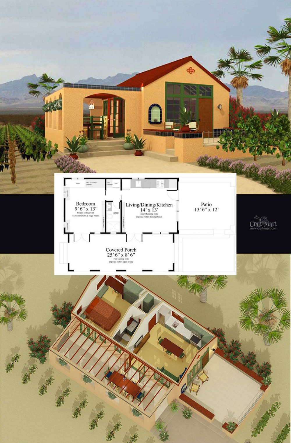 27 Adorable Free Tiny House Floor Plans | Tiny house floor plans ...