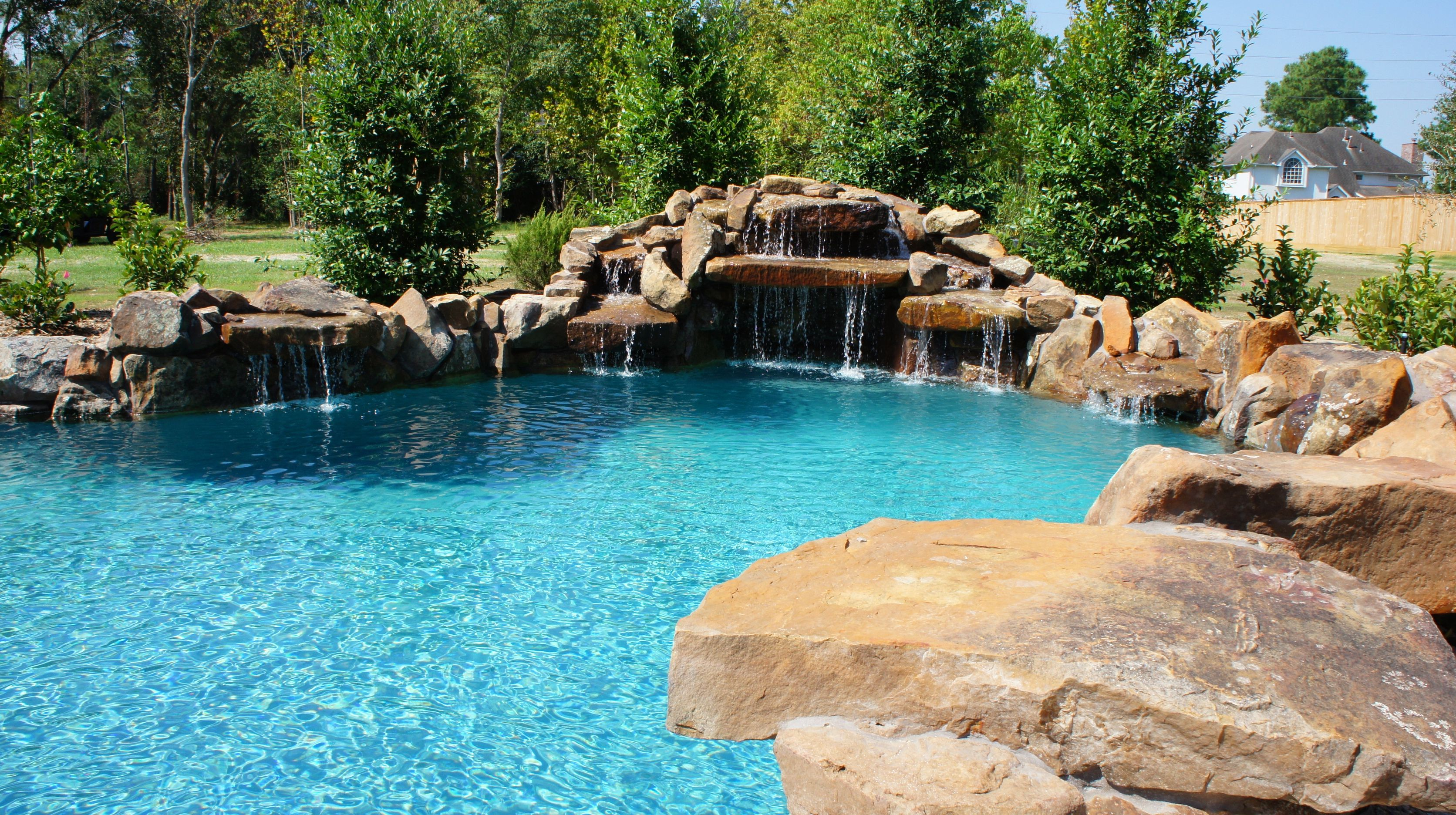 The Natural Look Custom Swimming Pools Pinterest