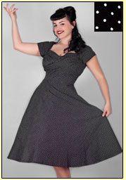 Plus Size 50s Dress Patterns | Daddy-O\'s 50s Retro ...