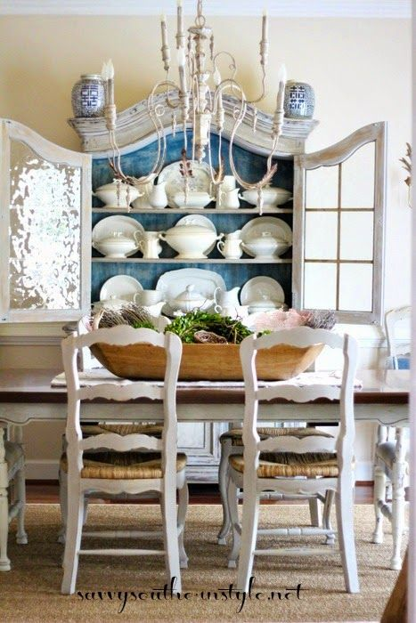 They Re Not Yellow Anymore French Country Dining Room Decor