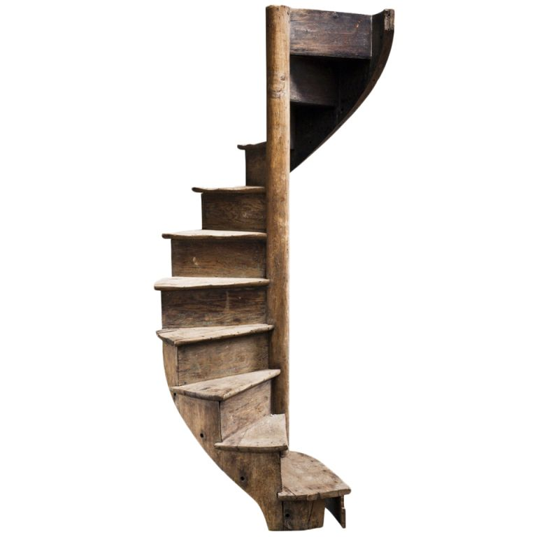 Best 1Stdibs Primitive Life Sized Spiral Staircase Explore 400 x 300