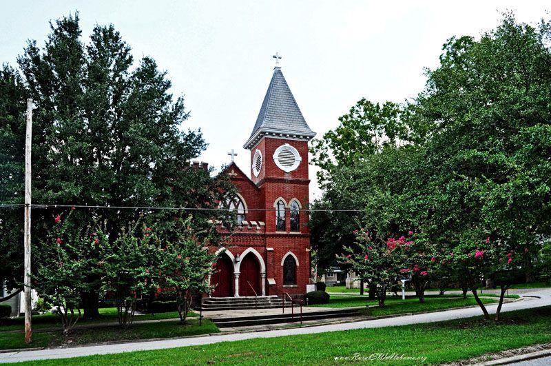 St Leo's Catholic Church at Demopolis, AL (built 1905