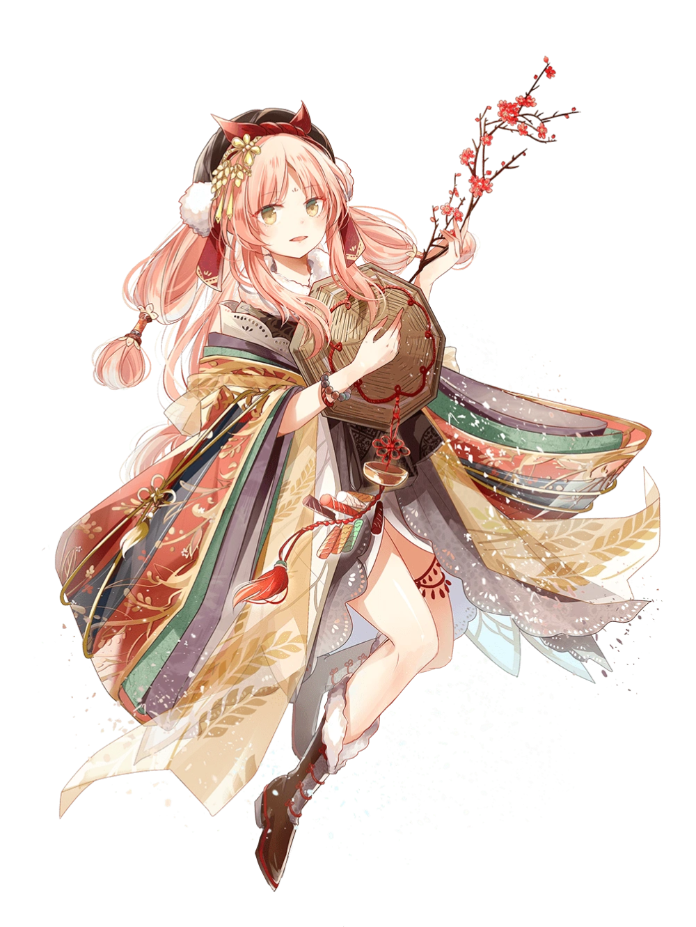 A Young Lady That Used To Be Very Popular Among The People At One Point In Time She Was The Symbol Of Harvest Food Fantasy Cool Anime Pictures Character Art