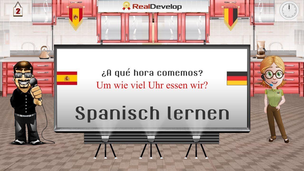spanisch lernen spanisch lernen f r anf nger 2 spanisch videos spanisch und spanisch lernen. Black Bedroom Furniture Sets. Home Design Ideas