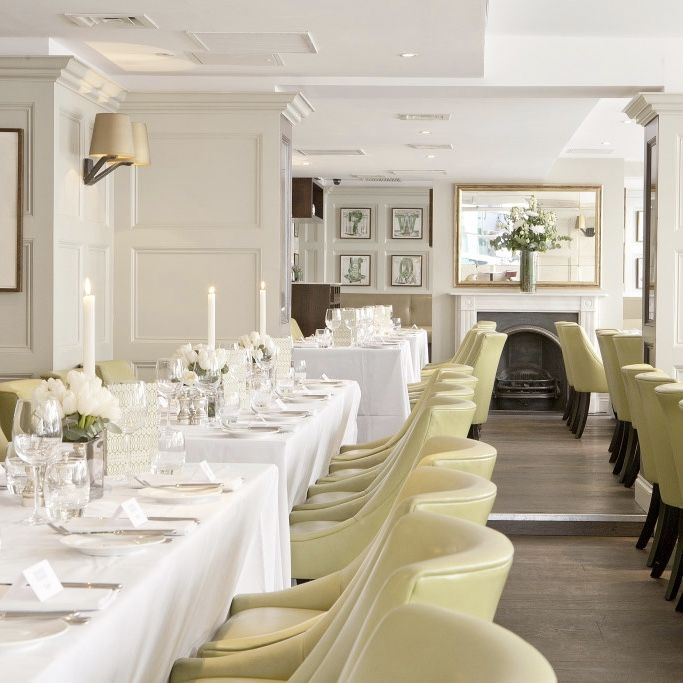 Chiswell Street Dining Rooms Is A Modern British Restaurant And Interesting The Chiswell Street Dining Rooms Design Decoration