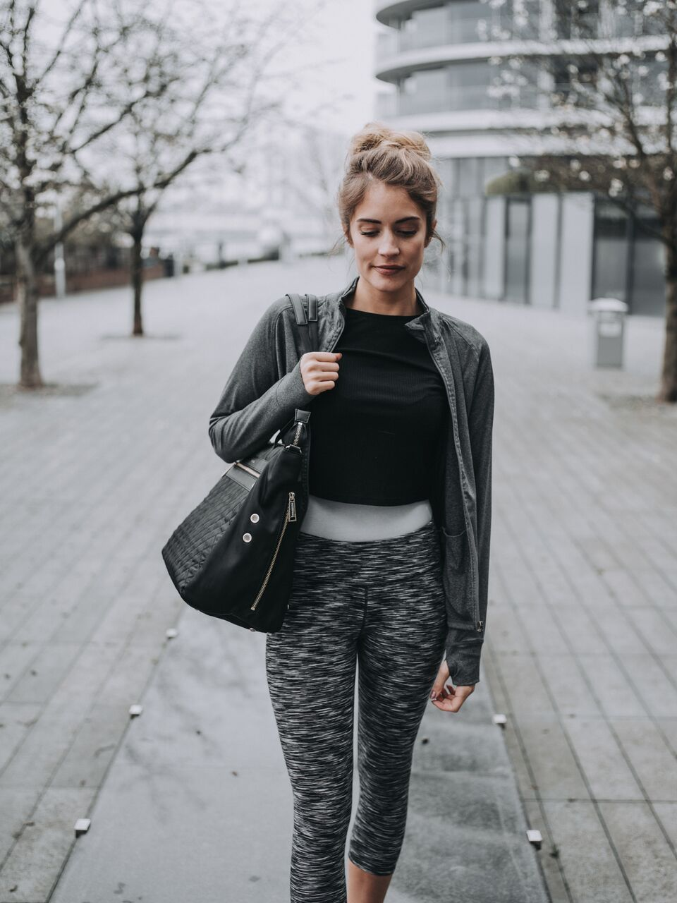 Finish off your outfit with a gym bag that works as hard as you do! Stylish  and practical. 3 separate compartments (inc. one for trainers) to keep work  ... f0448e1dbe603