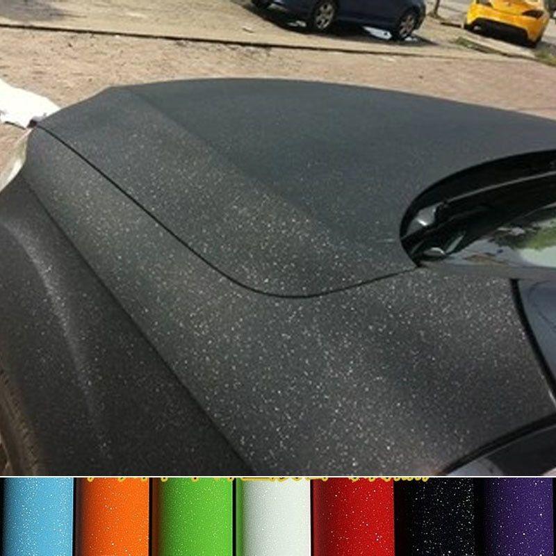 Matte Black Vinyl Film Wrap Car DIY Sticker Vehicle Decal 3D Bubble Free Hot 1Pc