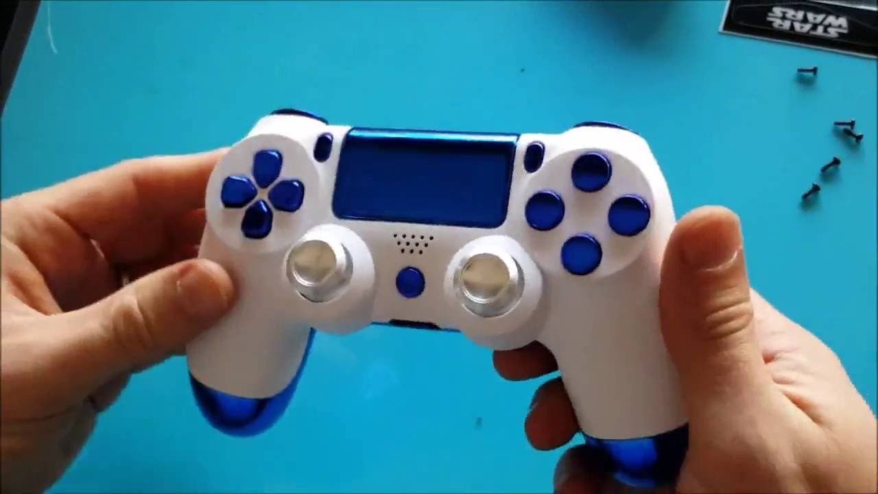 How to change the light bar color on your ps4 controller (After
