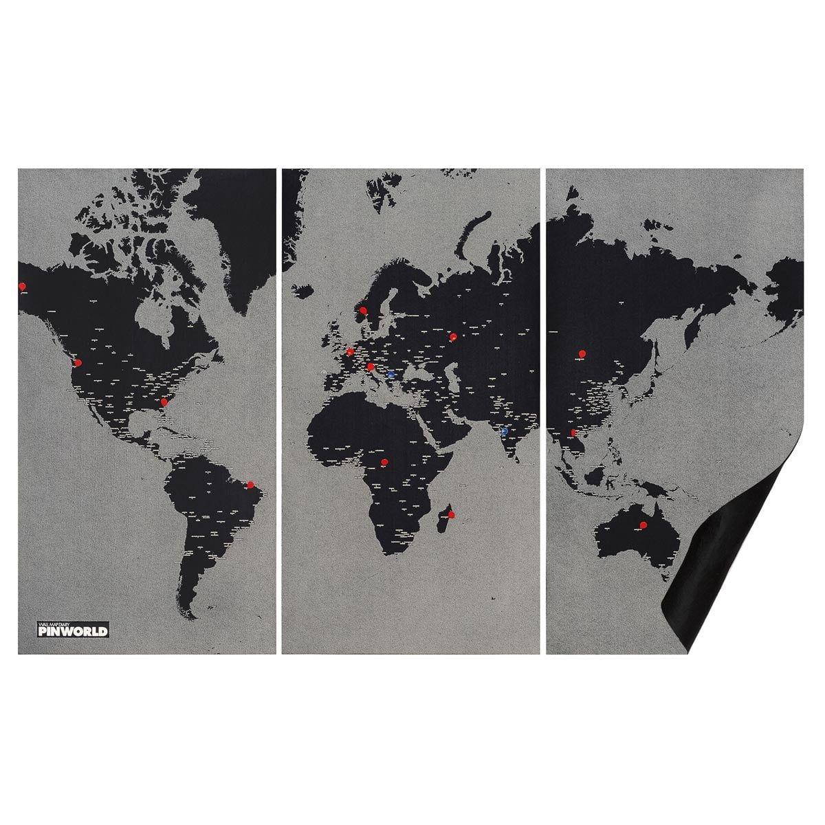 Pin World von Palomar | Connox Shop | Weltkarte, Karten