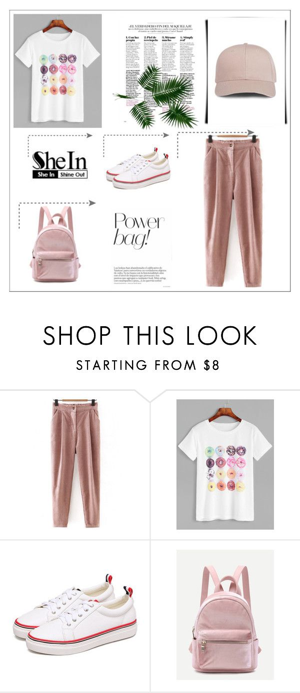 """""""SheIn 1/VII"""" by hedija-okanovic ❤ liked on Polyvore featuring shein"""