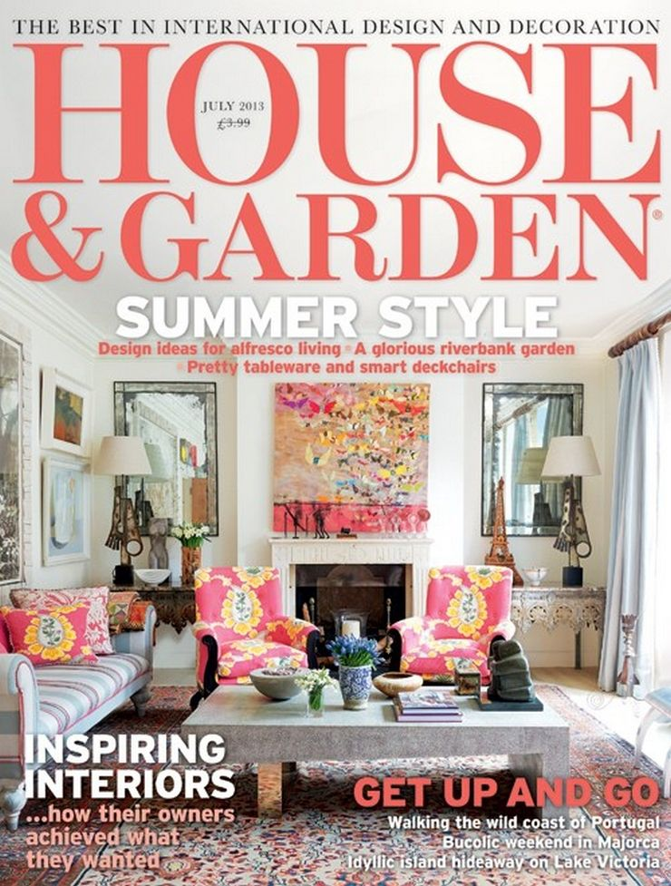 Charmant House And Garden Magazine