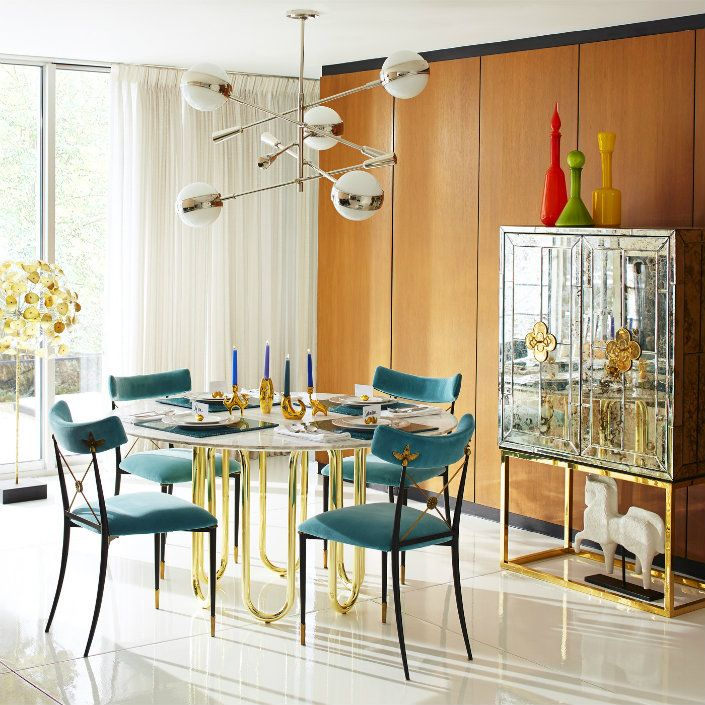 Contemporary Round Dining Room Tables Amusing 5 Modern Round Dining Room Table Inspiration